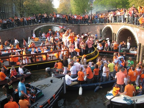 Queen`s Day Amsterdam